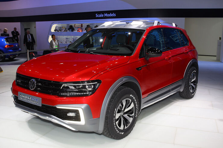 vw tiguan gte active concept suv mit plug in hybrid. Black Bedroom Furniture Sets. Home Design Ideas
