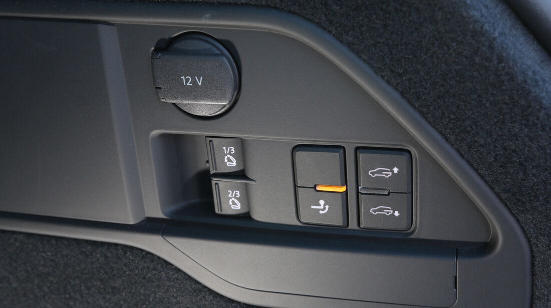 VW Touareg 3.0 TDI, Bedienelemente