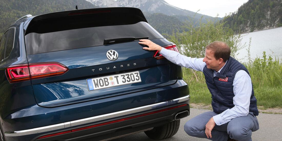 VW Touareg 3. Generation 2018 Fahrbericht ASV 12 / 2018