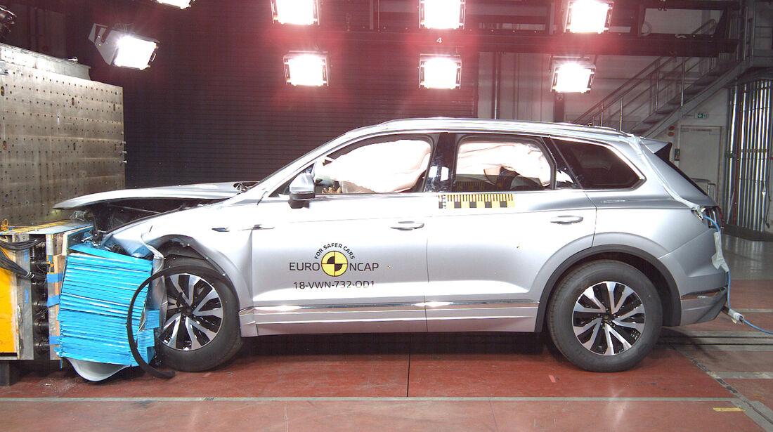 VW Touareg EuroNCAP 2018