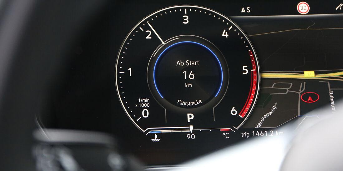 VW Touareg, Interieur