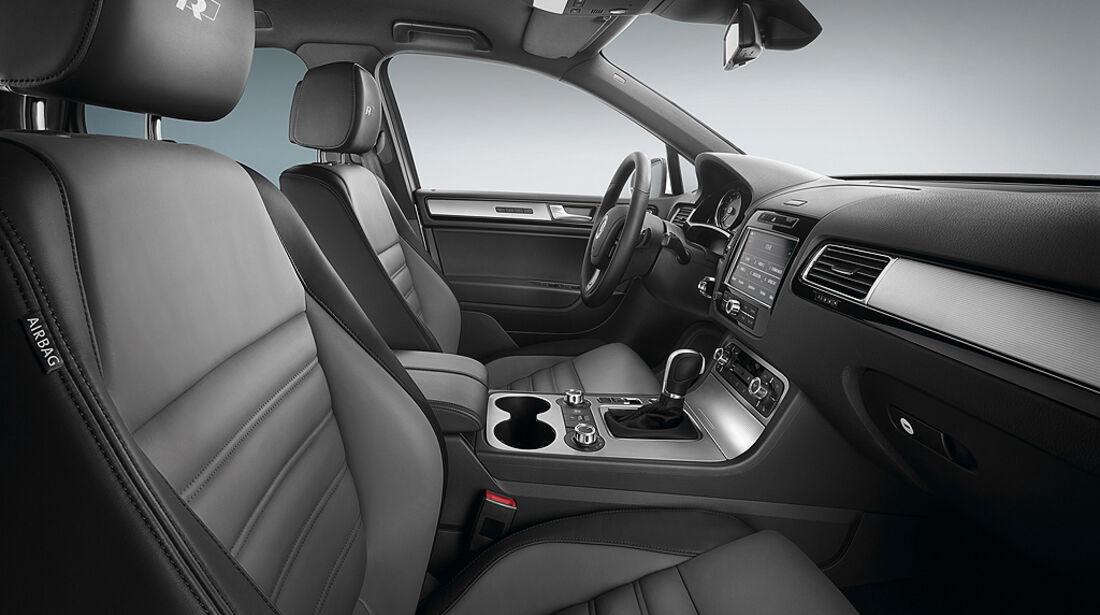VW Touareg R-Line, Sitze, Innenraum