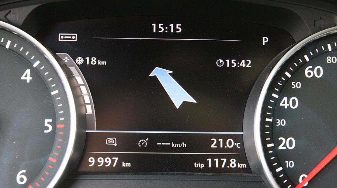 VW Touareg V6 TDI Armaturen