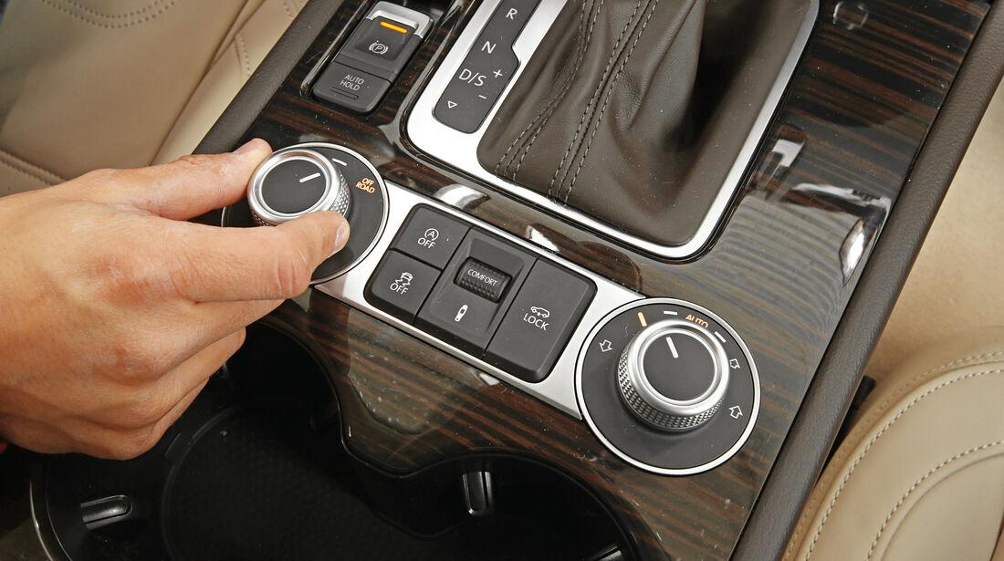 VW Touareg V6 TDI, Bedienelement