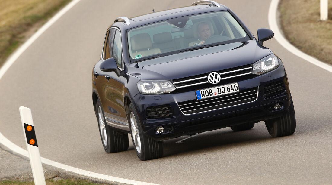 VW Touareg V6 TDI Blue Motion, Front