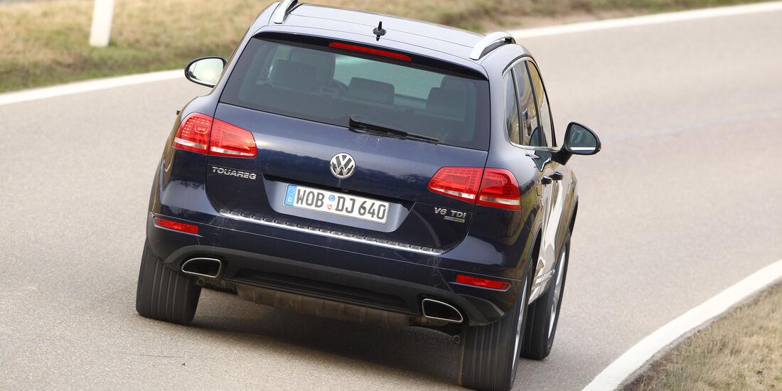 VW Touareg V6 TDI Blue Motion, Heck
