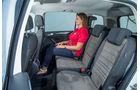 VW Touran 1.4 TSI, Fondsitze