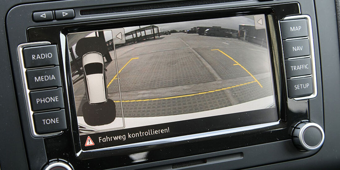 VW Touran Navigationssystem