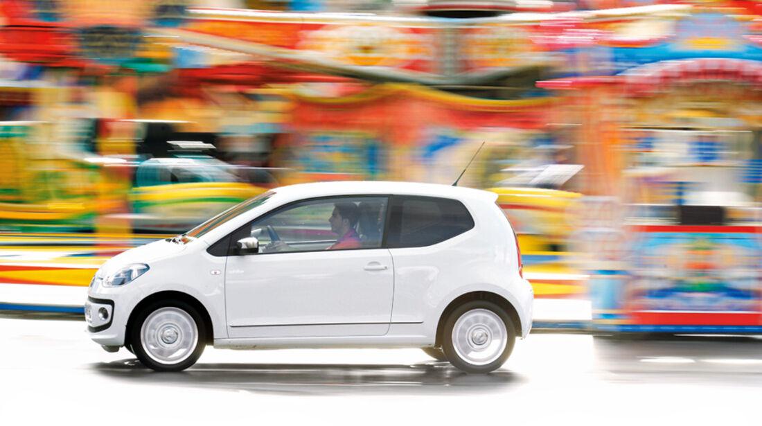 VW Up 1.0 White, Seite