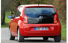 VW Up ASG, Heckansicht