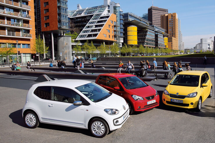 VW Up, Seat Mii, Skoda Citigo