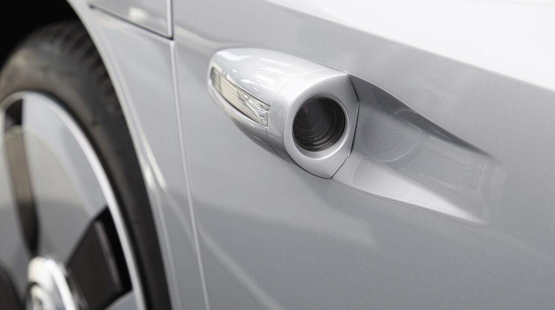 VW XL1, Einliter-Auto, Rückfahrkamera