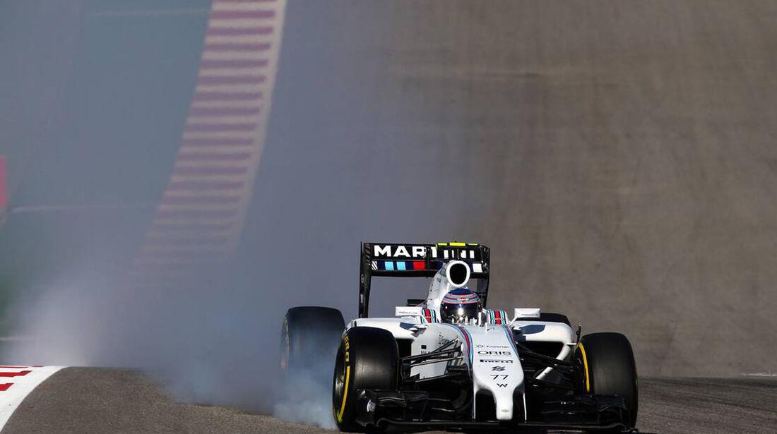 Valtteri Botas - Formel 1 - GP USA - 1. November 2014