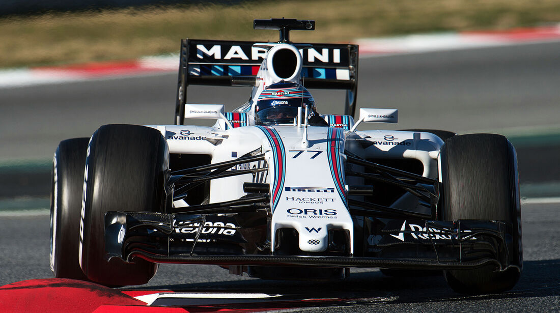 Valtteri Bottas - F1-Test Barcelona - 2015