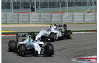 Valtteri Bottas - Felipe Massa - Formel 1 - GP USA - 2. November 2014
