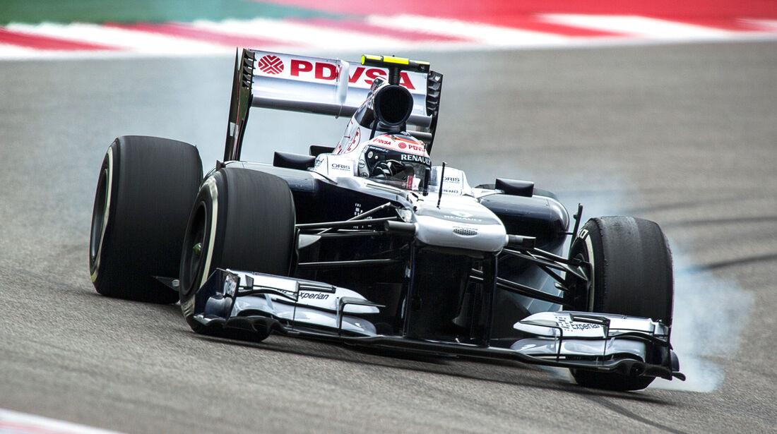 Valtteri Bottas - GP USA 2013