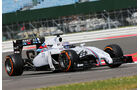 Valtteri Bottas - Marussia - Formel 1 - Silverstone-Test - 9. Juli 2014