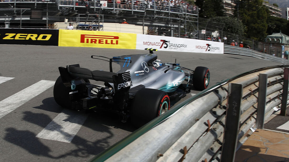 Valtteri Bottas - Mercedes - Formel 1 - GP Monaco - 25. Mai 2017