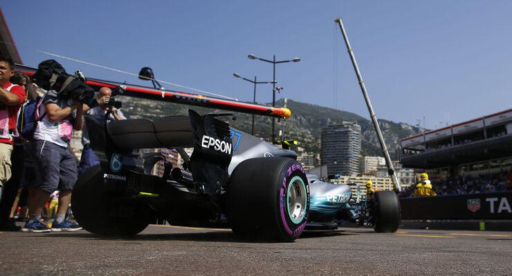 Valtteri Bottas - Mercedes - Formel 1 - GP Monaco - 27. Mai 2017