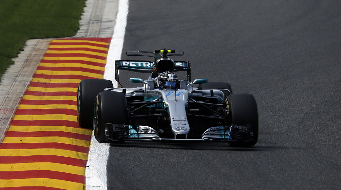Valtteri Bottas - Mercedes - GP Belgien - Spa-Francorchamps - Formel 1 - 25. August 2017