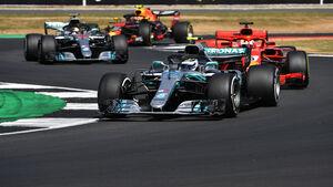 Valtteri Bottas - Mercedes - GP England 2018 - Silverstone - Rennen