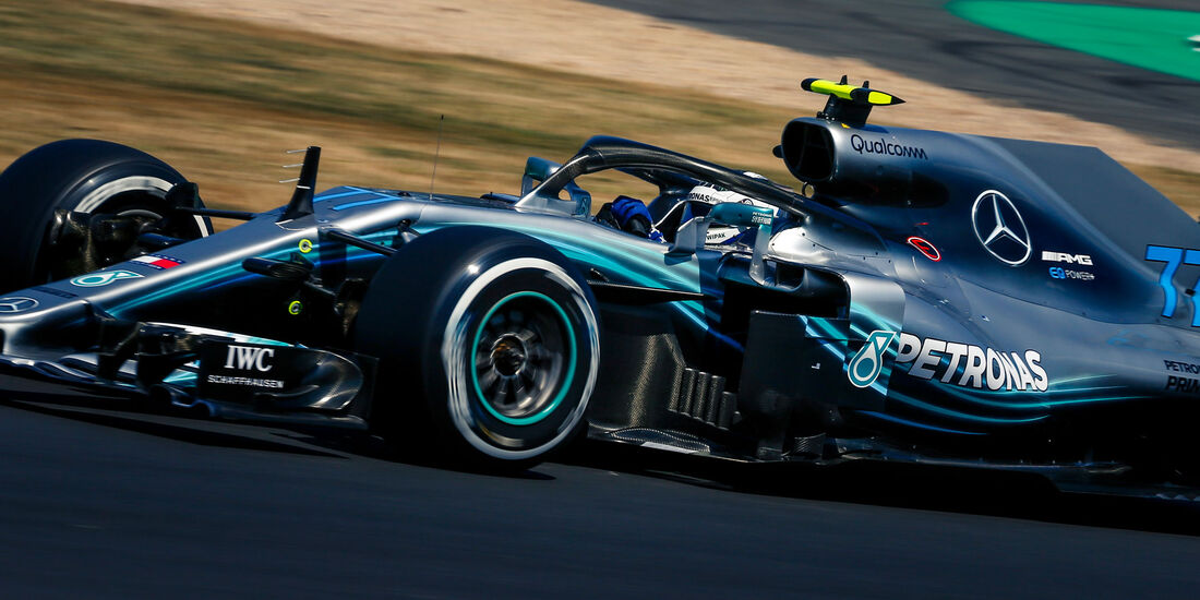 Valtteri Bottas - Mercedes - GP England - Silverstone - Formel 1 - Samstag - 7.7.2018