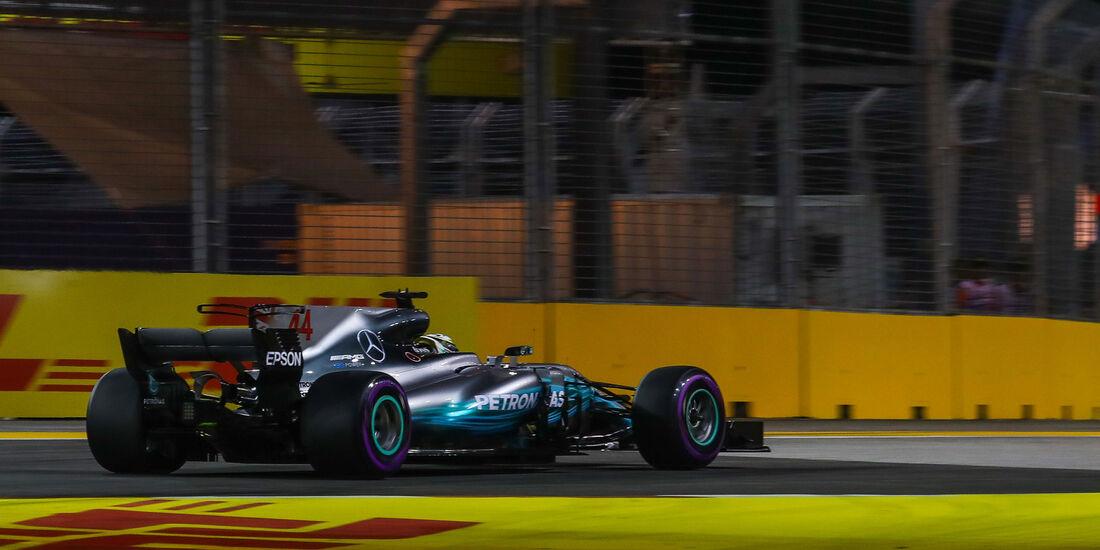 Valtteri Bottas - Mercedes - GP Singapur - Qualifying