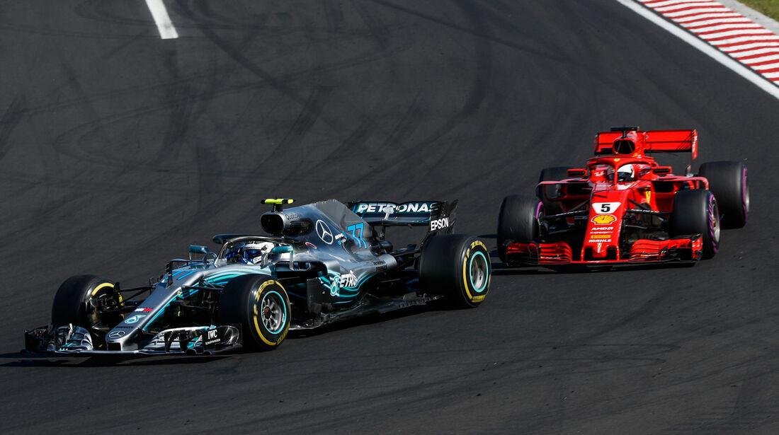 Valtteri Bottas - Mercedes - GP Ungarn 2018 - Rennen