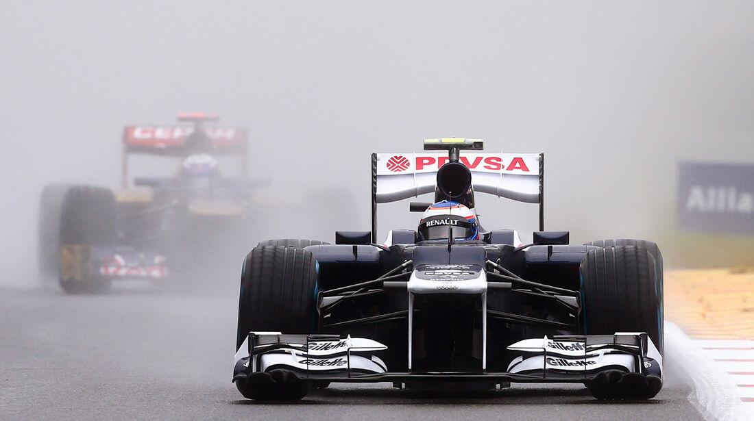 Valtteri Bottas - Williams - Formel 1 - GP Belgien - Spa-Francorchamps - 31. August 2012