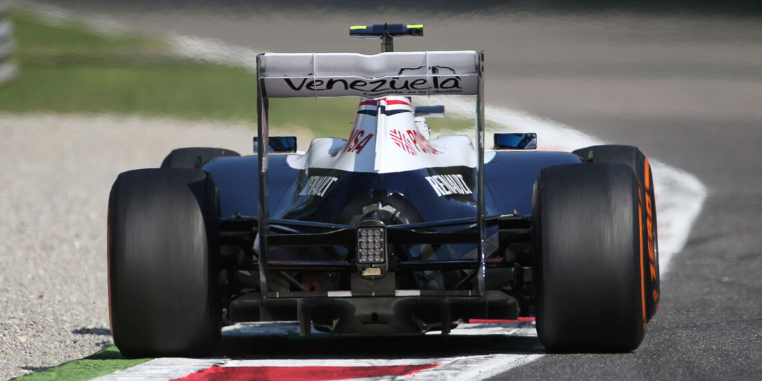 Valtteri Bottas - Williams - Formel 1 - GP Italien - 6. September 2013