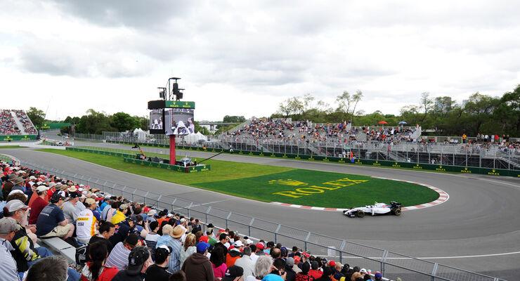 Valtteri Bottas - Williams - Formel 1 - GP Kanada - Montreal - 6. Juni 2014