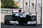 Valtteri Bottas - Williams - Formel 1 - GP Monaco - 23. Mai 2013