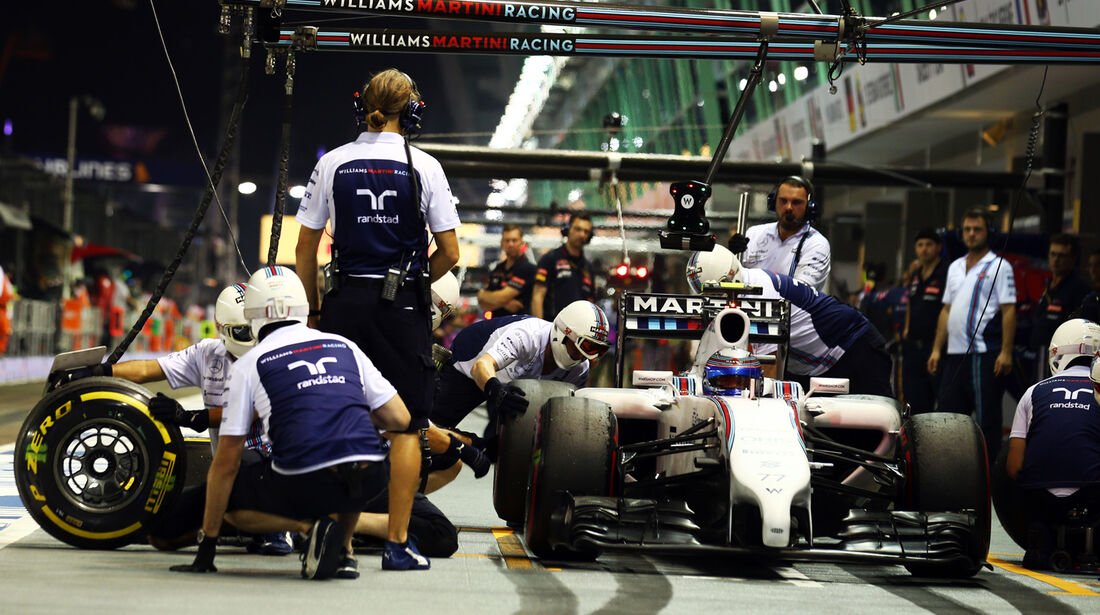 Valtteri Bottas - Williams - Formel 1 - GP Singapur - 19. September 2014