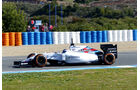 Valtteri Bottas - Williams - Formel 1-Test Jerez - 1. Febraur 2015