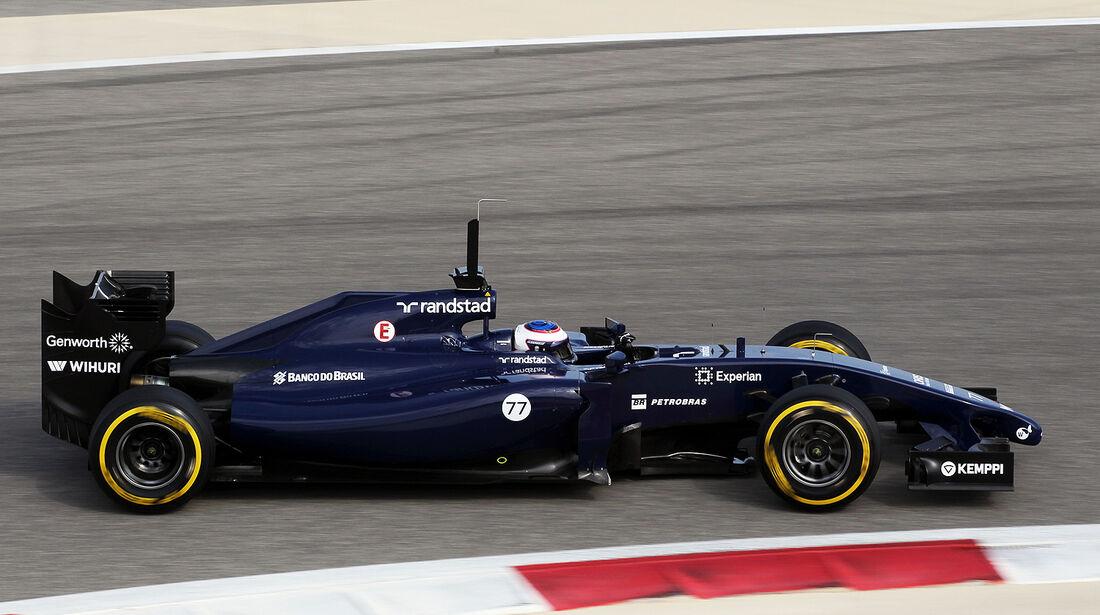 Valtteri Bottas - Williams - Test - Bahrain - 27. Februar 2014