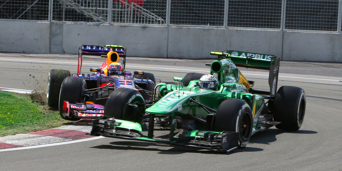 Van der Garde - GP Kanada 2013