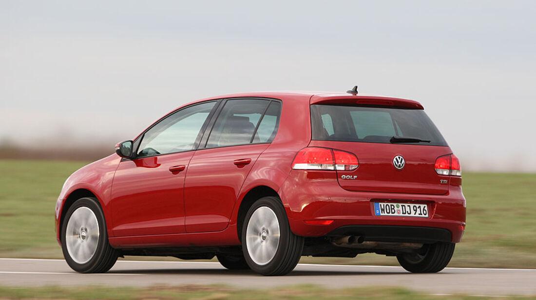 Vergleichstest Ford Focus, Opel Astra, Renault Mégane und VW Golf