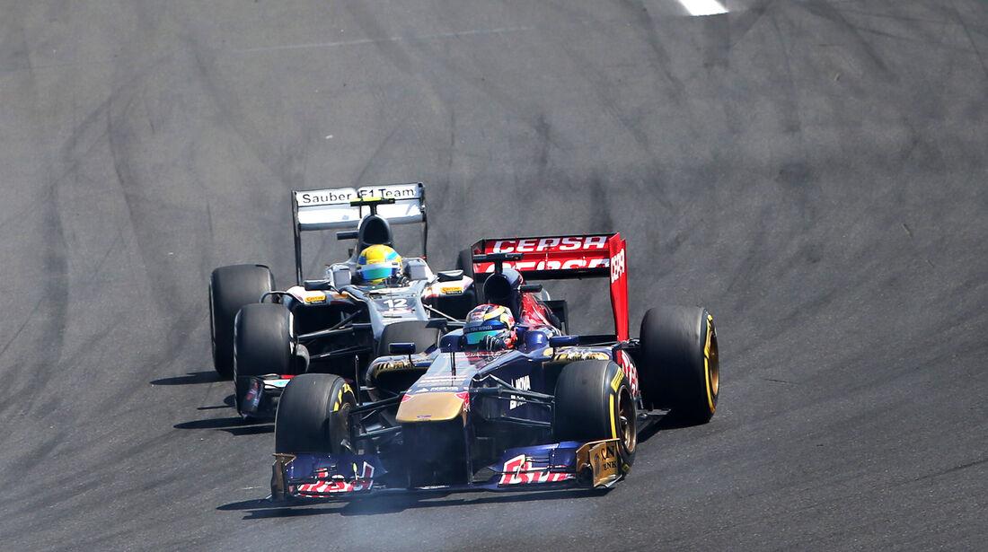 Vergne vs. Gutierrez - Formel 1 - GP Ungarn 2013