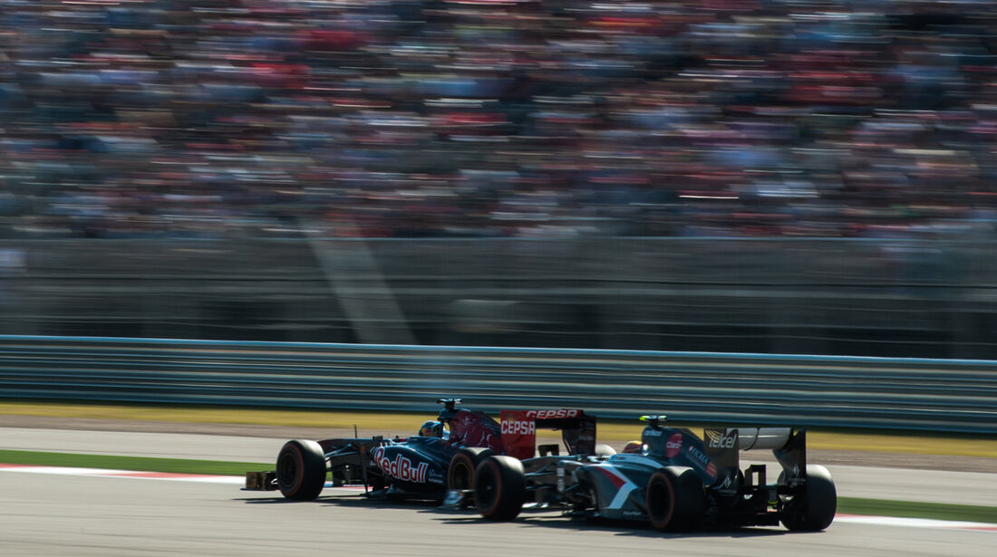 Vergne vs. Gutierrez - GP USA 2013