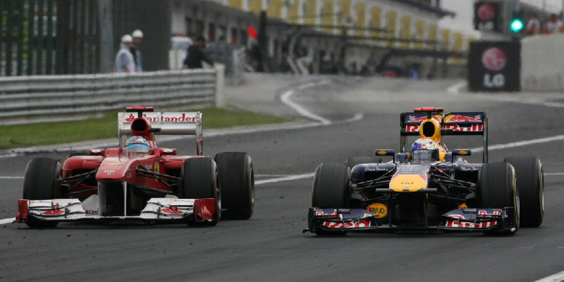 Vettel Alonso - GP Ungarn - Formel 1 - 31.7.2011 - Highlights