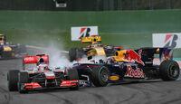 Vettel-Button Crash