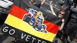 Vettel-Fans