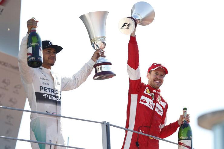 Vettel & Hamilton - GP Italien 2015