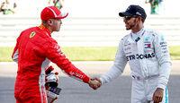 Vettel & Hamilton - GP Russland 2018