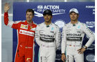 Vettel, Hamilton & Rosberg - Formel 1 - GP Bahrain - 18. April 2015