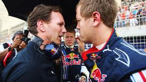 Vettel & Horner