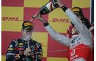 Vettel Podium GP Japan 2011