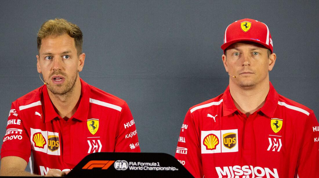 Vettel & Räikkönen - GP Abu Dhabi 2018