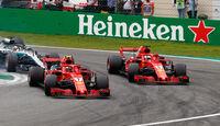Vettel & Räikkönen - GP Italien 2018