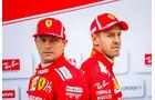 Vettel & Räikkönen - GP USA 2018